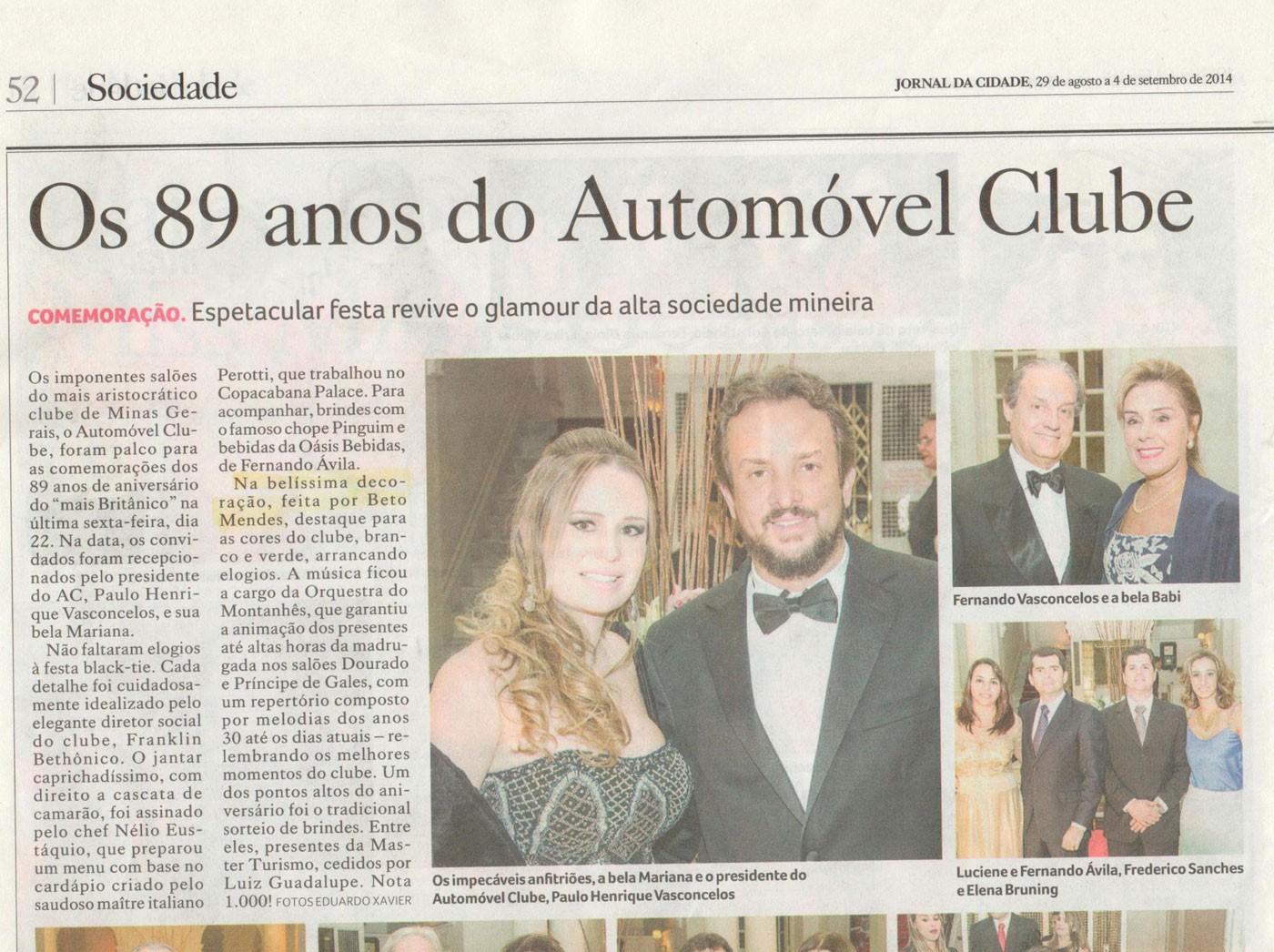 Aniversário do Automóvel Clube