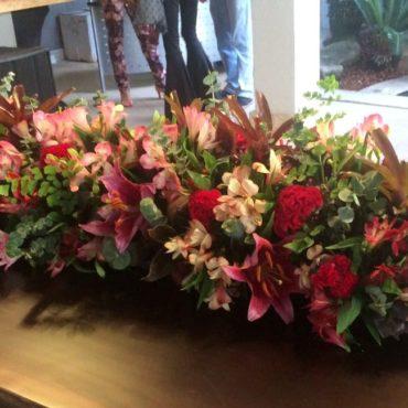 Detalhe arranjo de flores