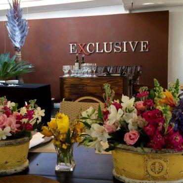 Evento empresarial - Almoço Exclusive de Maio