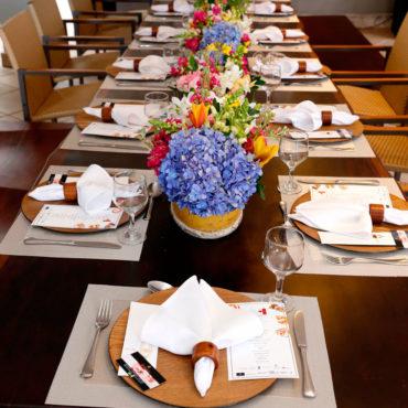 Evento empresarial - Almoço da Revista Exclusive de Maio